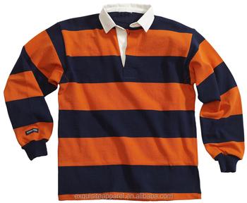 Polos De Rugby Américains À Manches Longues