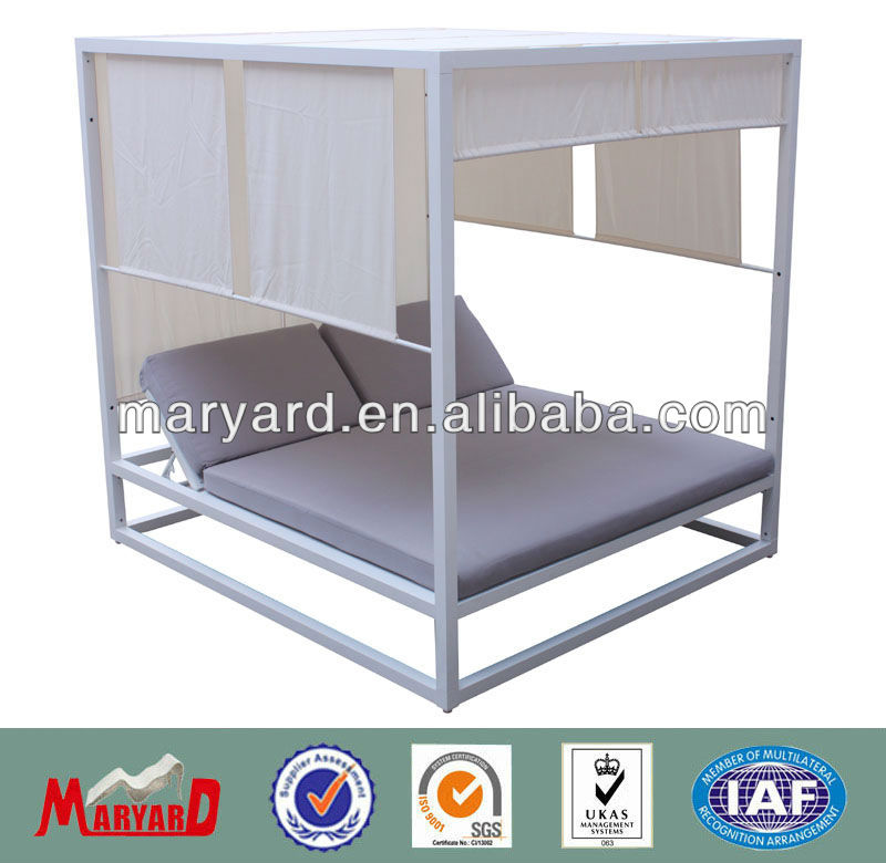 pride aluminum furniture of outdoor patio daybed