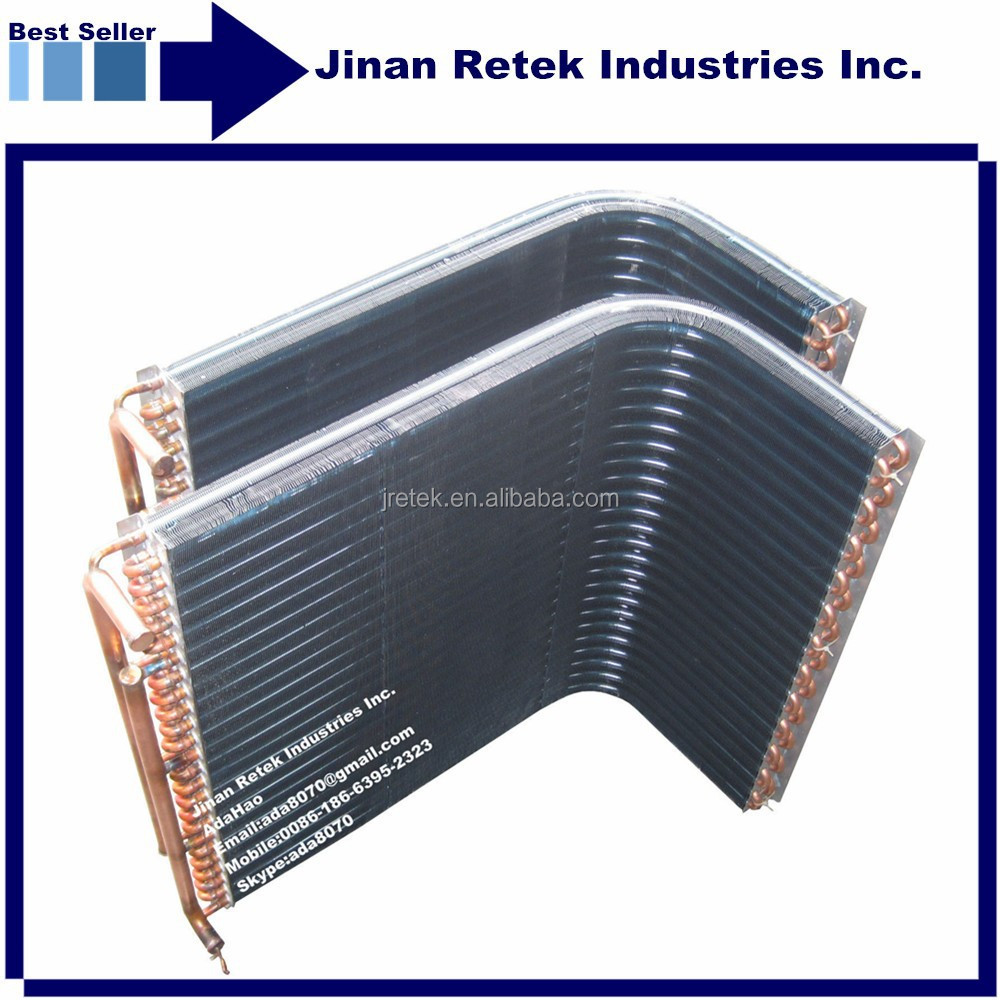 21x12.7mm Copper Tube Aluminum Fins Air Cooled Condenser Price