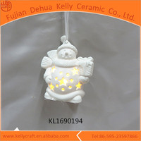 Snowman LED lamp christmas images of handmade wall hanging