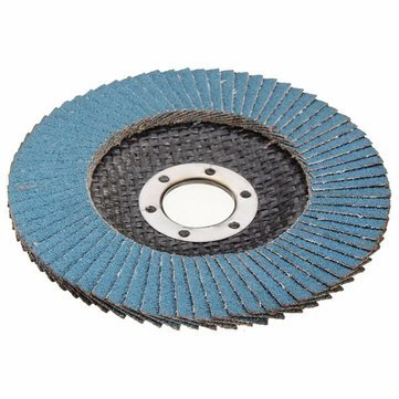 Grinder Wheel - Die Grinder Sanding Disc - Grinder Flap Disc - Grinder Flap Disc 60 - Grinder Cutting Wheel - Flapper Disc - 115mm Flap Sanding Disc 40 60 80 120 Grit Grinder Wheel (80)