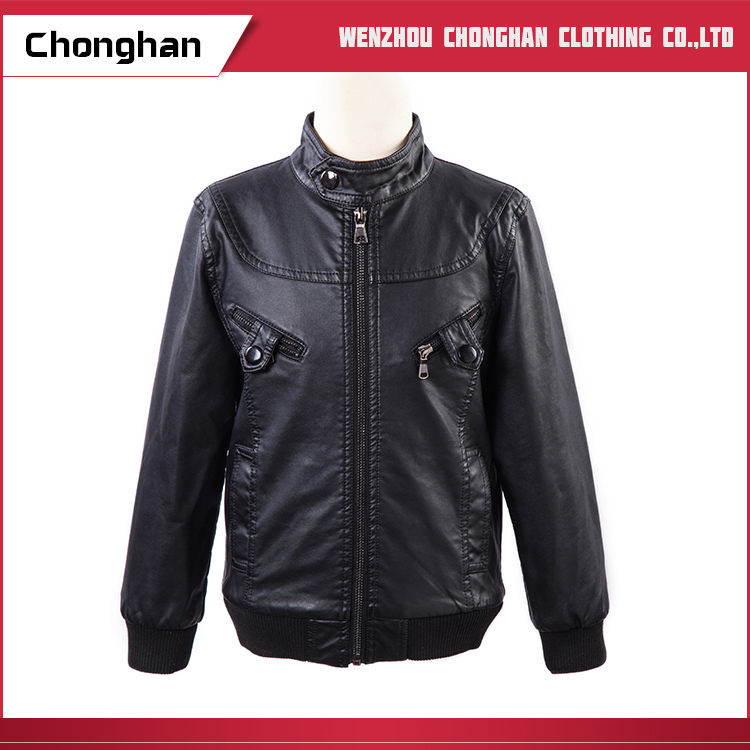 Chonghan Pakistan New Arrivals Mens Wear Leather Jackets With Wholesale Price