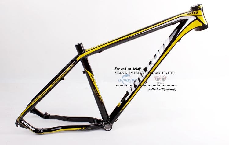 Hot Aluminum Mountain Bike Frame 6061 Aluminum Alloy Mtb Frame - Buy ...