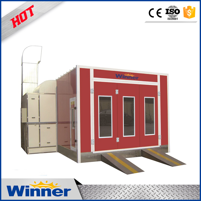 WINNER M3200C Cheap Price Downdraft Spray Paint Booth for Vehicles