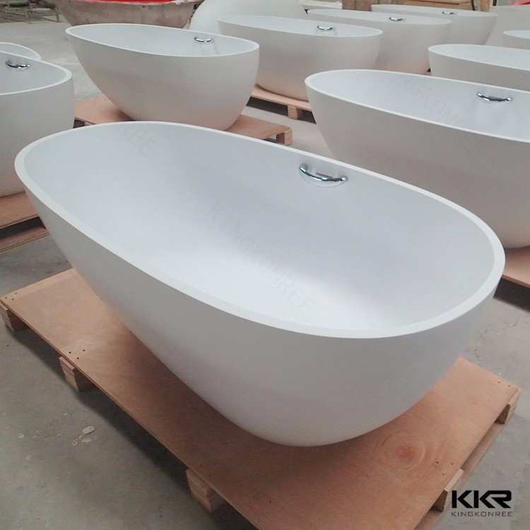 Kkr 2016 New Products Acrylic Stone Resin Hip Bath