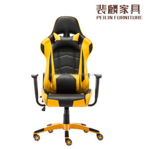 Doshower New Design akracing gaming chair office chair with red bucket seats, car seat style office chair