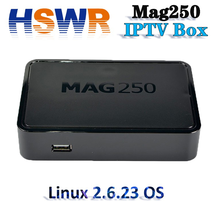 Newest and More stable IPTV <strong>Set</strong> <strong>Top</strong> <strong>Box</strong> MAG 250 Linux system mag 254 mag250 IPTV <strong>BOX</strong> from Original Factory