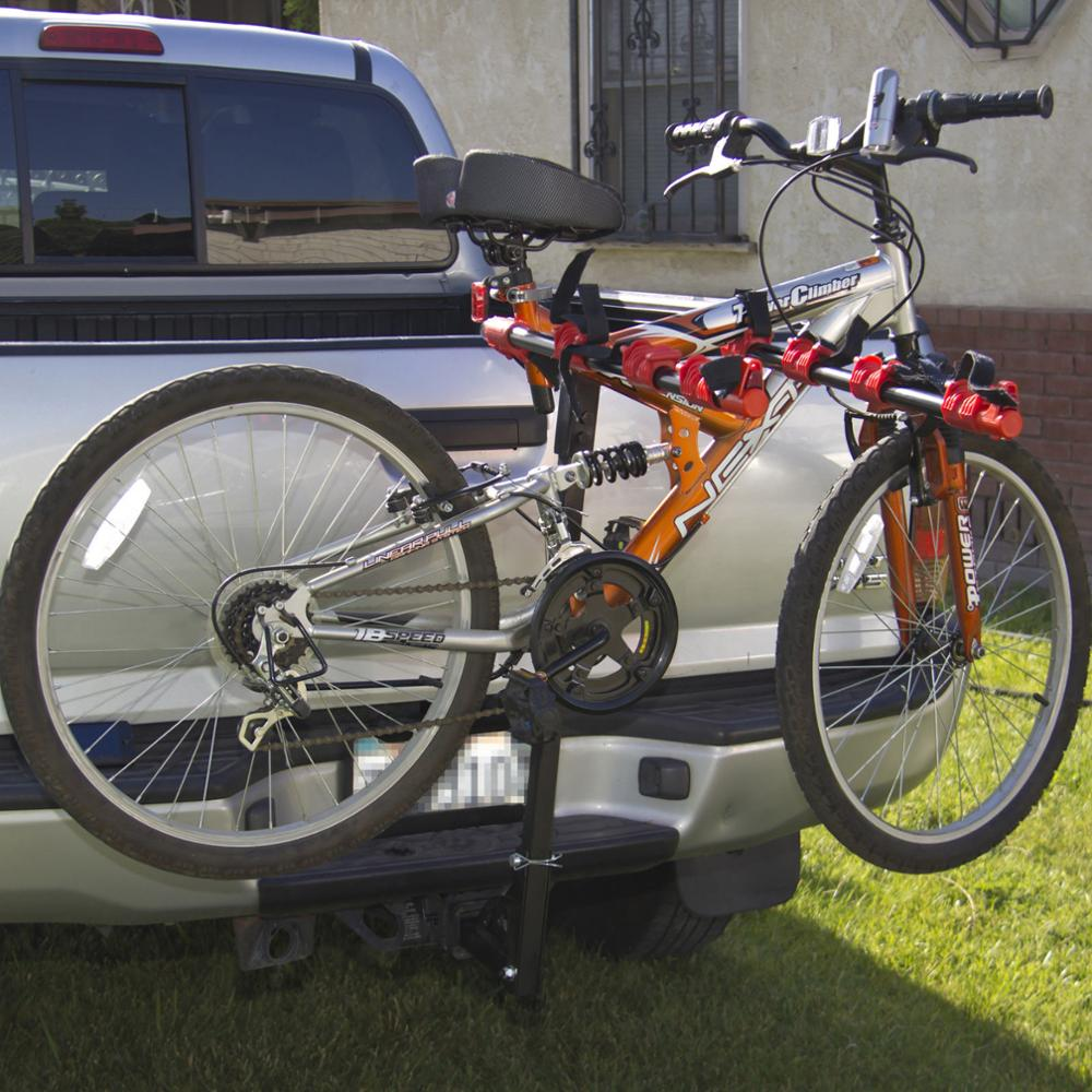 4 Bikes Auto Hitch Mount Bicycle Rack Car SUV Truck Carrier Swing Away