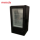 Glass Door Table Top 50 Liter Ice Cream Mini Display Freezer SD50