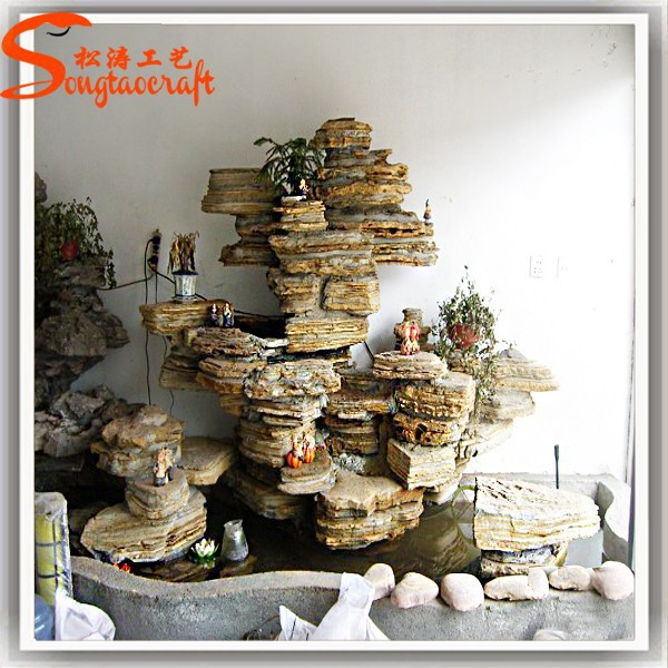 Outdoor Indoor Artificial Garden Waterfall Wall Fountain
