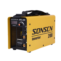 transformer type toolcraft igbt inverter ac dc arc mma welding machine for sale in saudi arabia (ARC200)