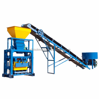QT40-1concrete,interlocking,cement brick making machine hot sale