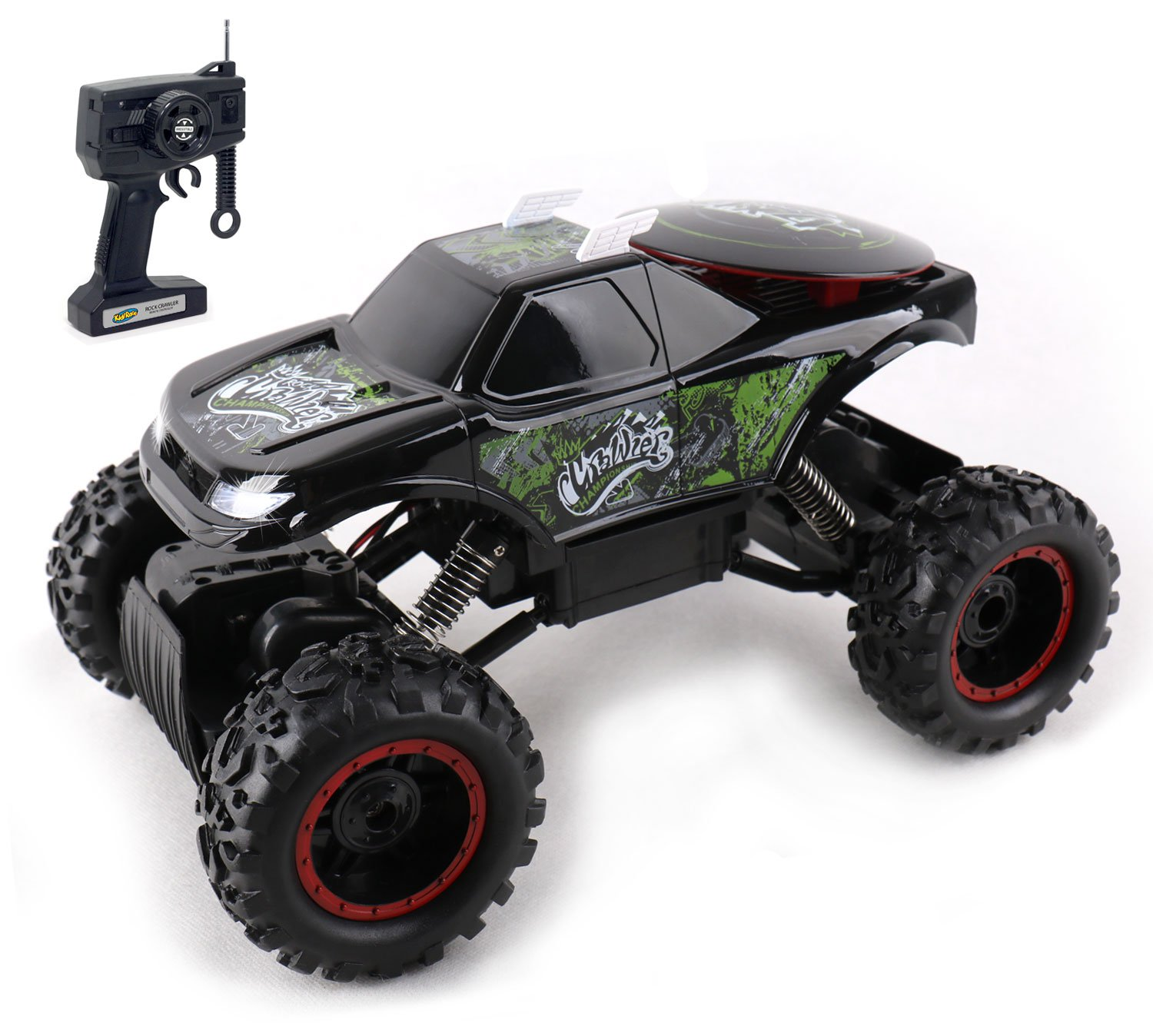 Cheap Tata Motors On Road Price Find Stepper Remote Control Car Get Quotations Kidirace Rock Crawler Black Rc All Terrain With 3 Powerful