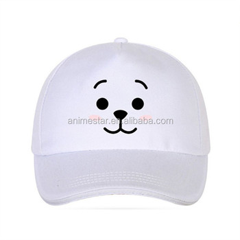 K-POP BTS Bulletproof Boy Scouts Baseball Cap White Adjustable Summer Hat 8f3ab9a2ed8