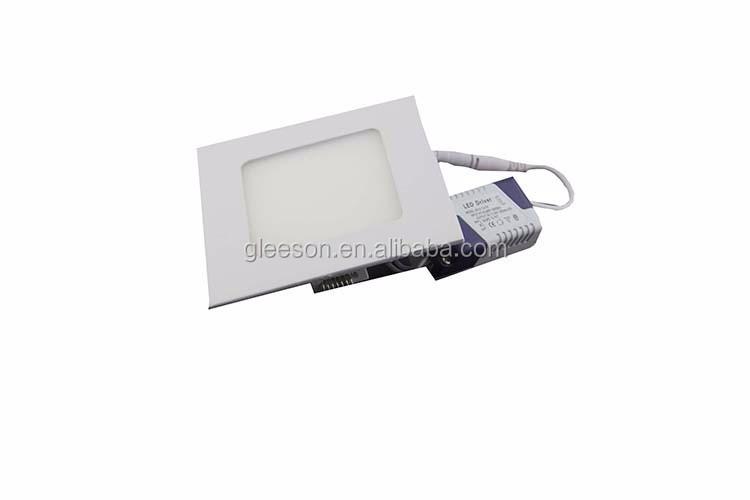 Led Panel Frame Ultra Slim Led Square Panel Light 6w Recessed ...