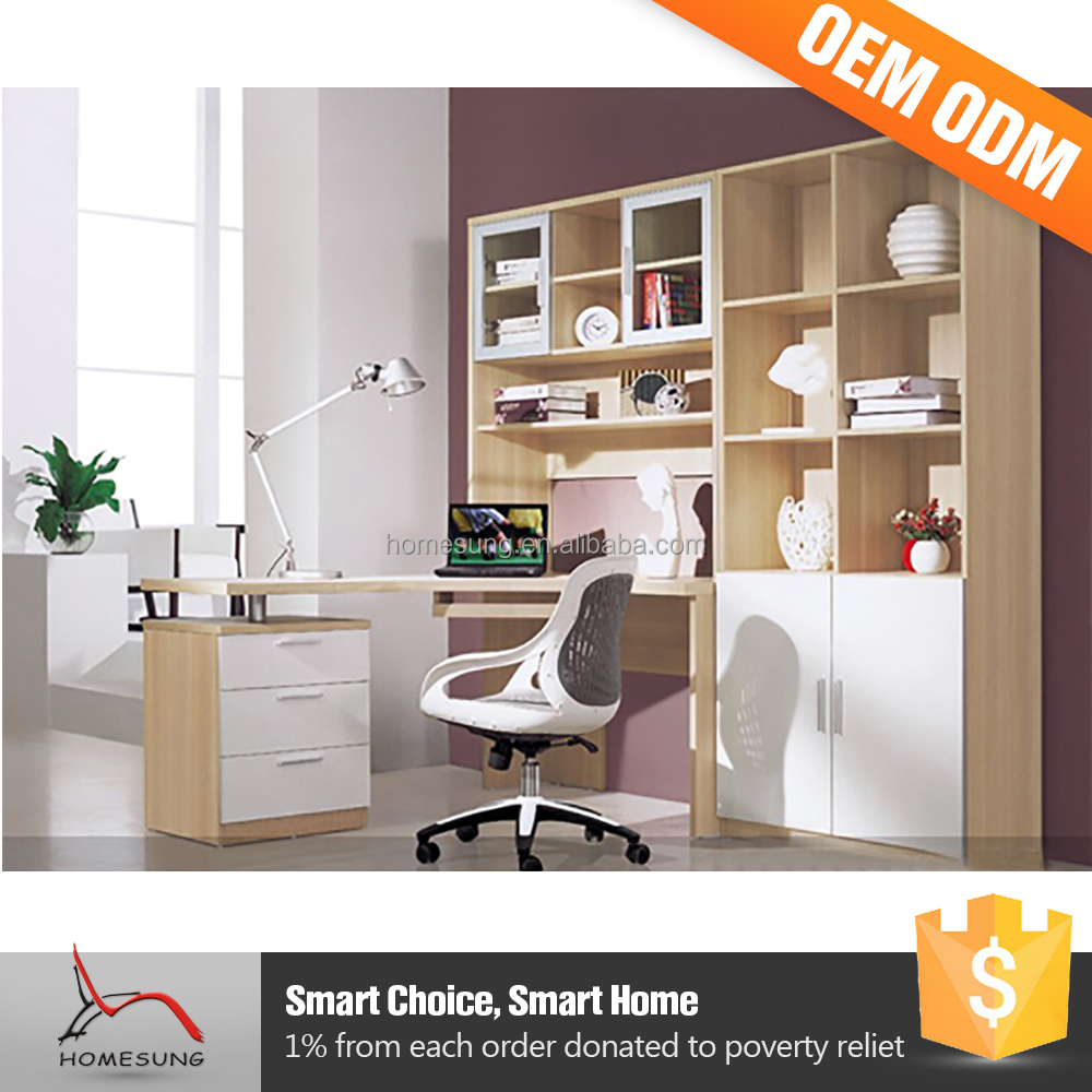 Living Room Furniture Elegant L Shaped Home Classic White Bookcase