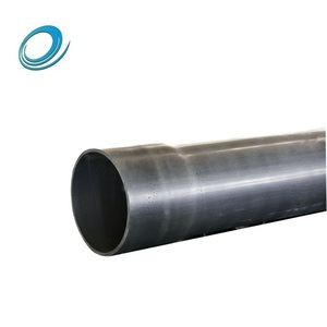 China lightweight plastic grey underground water supply pvc pipe prices for potable
