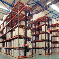 Heavy Duty Adjustable Steel Shelving Storage Pallet Rack, Warehouse Selective Pallet Rack System