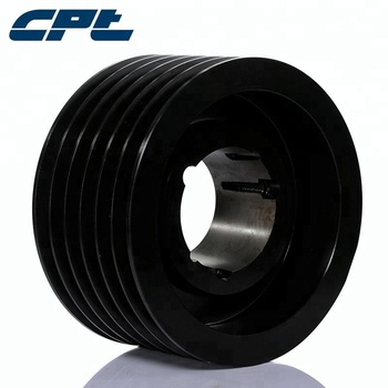 SPZ 6 grooves stock pulley for air compressor