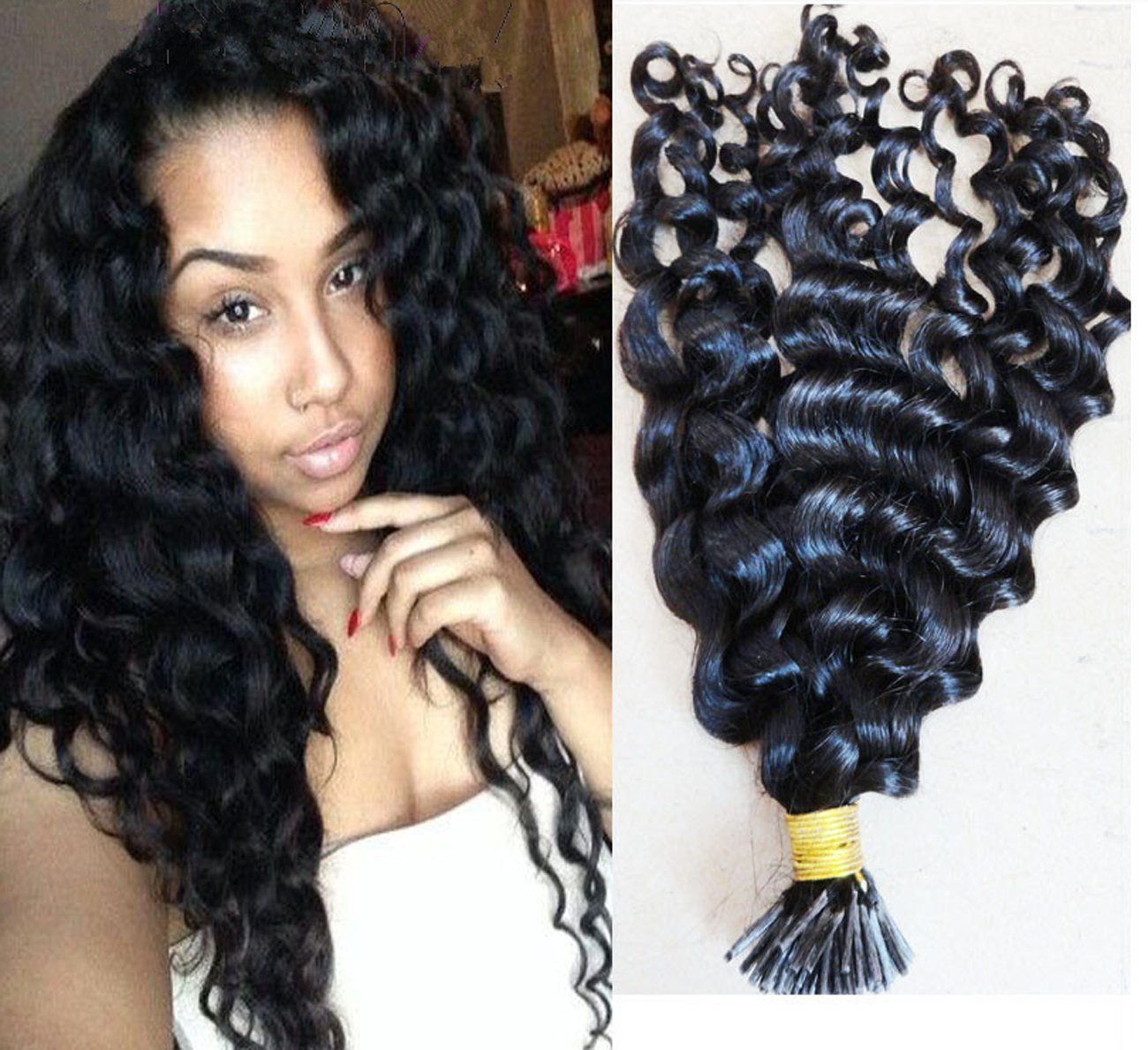 Cheap Curly Pre Bonded Hair Extensions Find Curly Pre Bonded Hair
