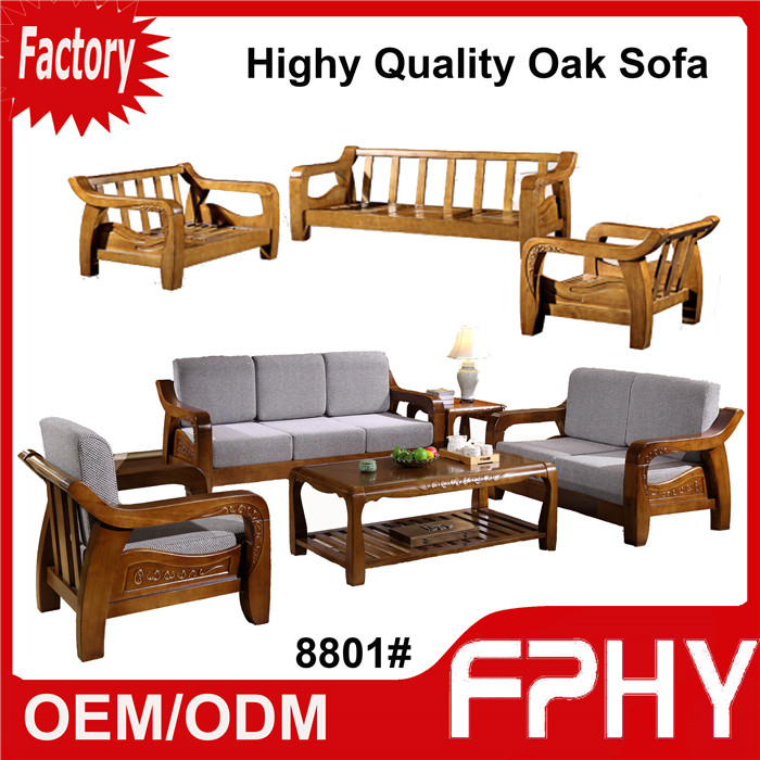 Manufacturer FPHY living room Furniture Solid wood sofa set designs and  prices