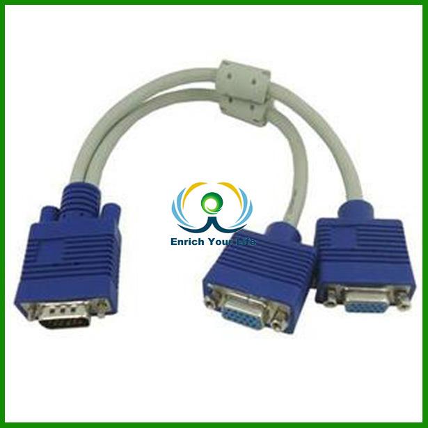 Hoher Geschwindigkeit Vga 1 Bis 2-splitter-kabel Schaltplan Vga ...