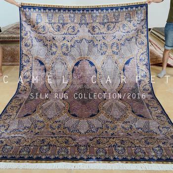 Tapis De Soie Turque 6x9 Traditionnel Fait À La Main Salon Tapis De Soie  Violet Foncé Tapis Cachemire - Buy Tapis Cachemire,Tapis De Soie ...