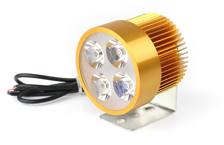 12W 6500K white light 800 lumen super bright led light for motorcycle