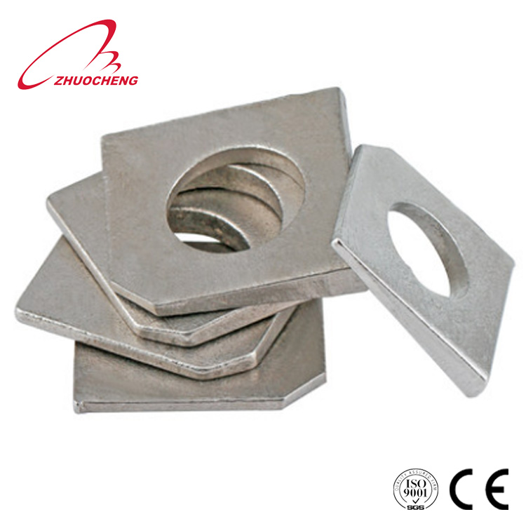DIN 434 M24 Square Taper Washers for U-sections A4 Stainless Steel 20pcs ASSP0434424 Ships FREE in USA by Aspen Fasteners
