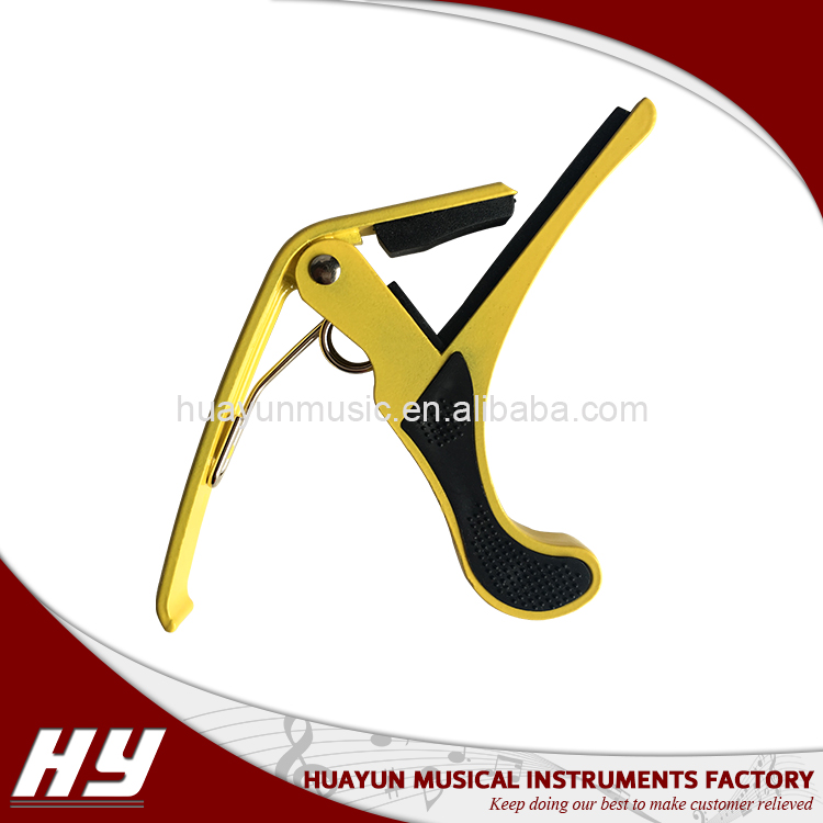 New-design custom acoustic and electric guitar capo