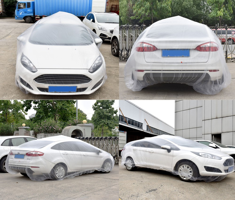 Plastic Clear Car Covers