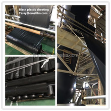 Black poly sheeting construction film 6mil