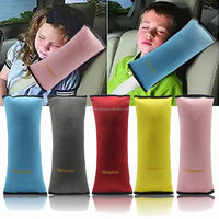 Soft neoprene handle cover Seatbelt Headrest Pillow Cover Shoulder Pad Comfy Support Car Pillow for Kids