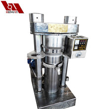 Stainless Hydraulic cold pressed virgin coconut oil/palm kernel expeller price/essential oil extraction equipment
