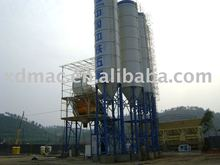 HZS75 small capacity 75m3/h cement concrete mixing plant