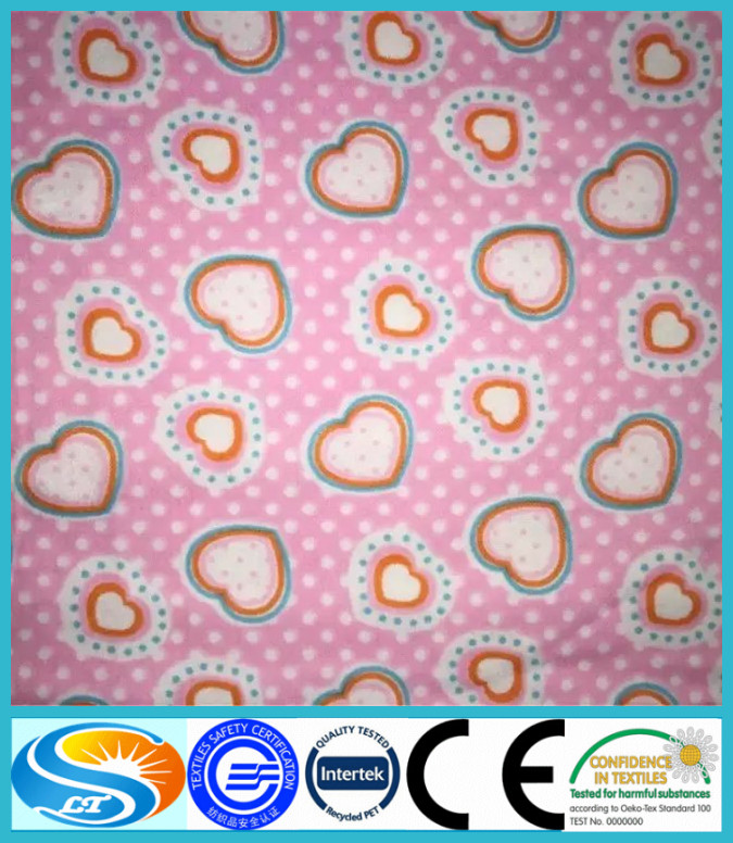 100% cotton printing garment flannelette / flannel fabric
