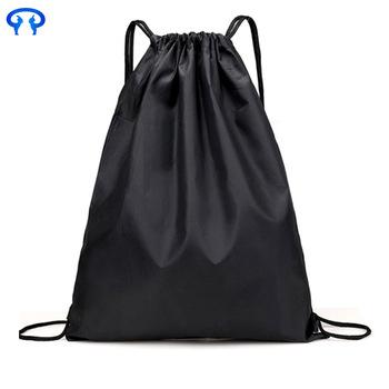 210d 420d Drawstring Polyester Nylon Gym Bags Bag Backpack