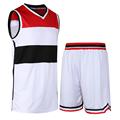 New 2016 Men s Basketball Sportswear Suit Sets Jacket and Shorts Personality Print Custom Logo Training