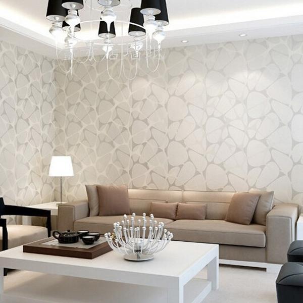 Wall Paper Modern Minimalist Wallpaper Water Cube Home Decoration