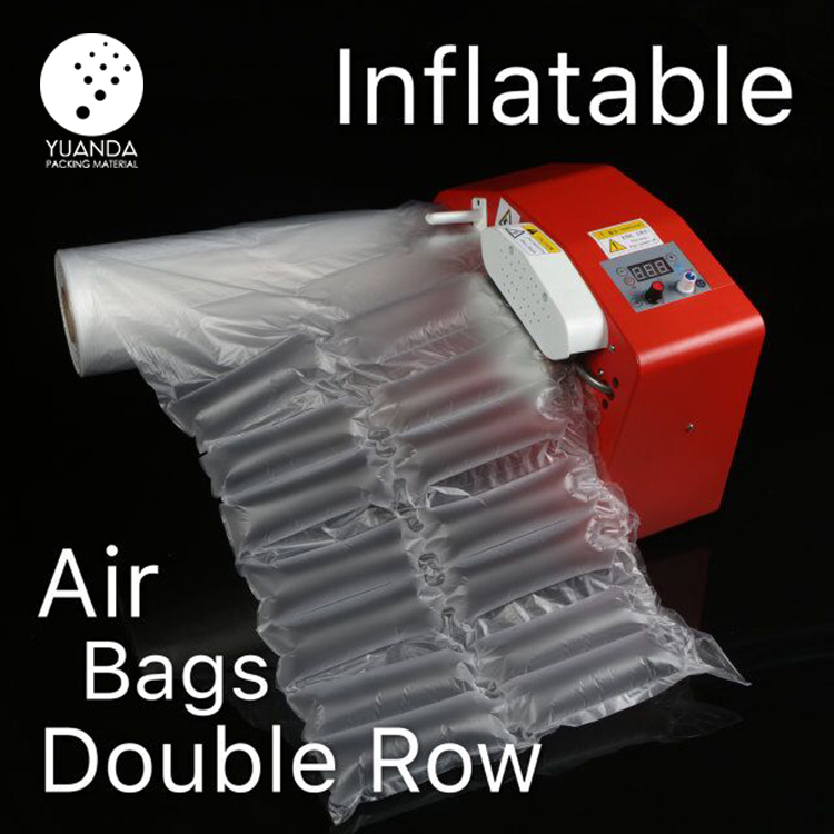Hot wholesale PE PA material custom plastic inflatable protective packaging void fill air bag