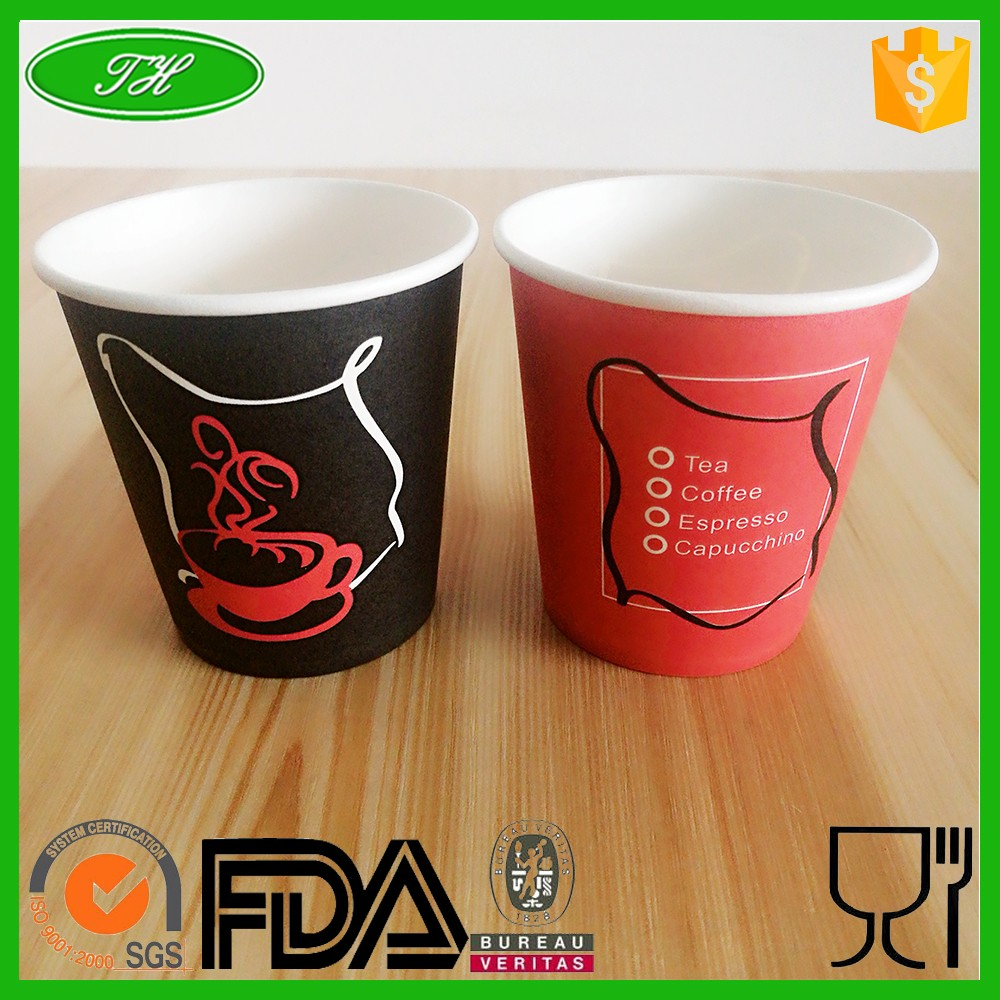 Custom printed take away coated coffee cups for sale buy Coffee cups for sale