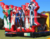 Justice League inflatable combo bouncers outside jumping castle for sale