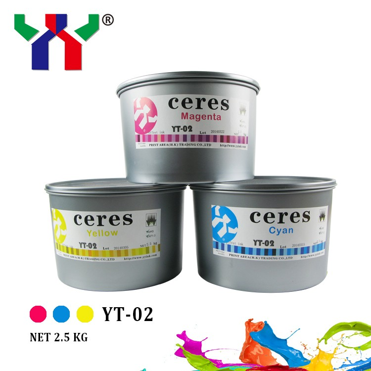 YT-02 ECO-Friendly High Gloss Sheet-fed Offset Printing Ink