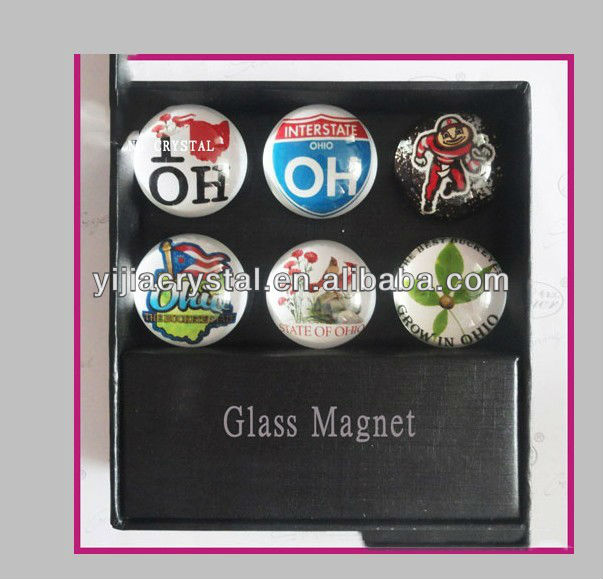 cheap customized crystal fridge magnets