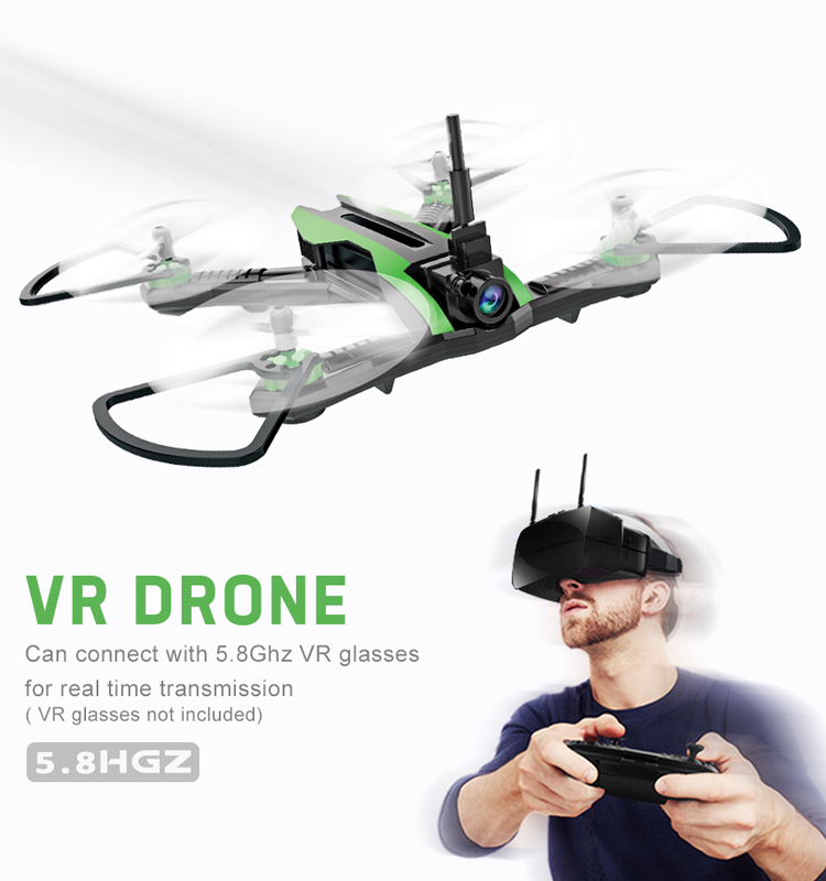 Flytec_H825G_RC_Drone_5.8G_VR_Racing_Quadcopter_Wide_Angle_Camera_FPV_High_Speed_RTF_Mini_Drones_Toys_2