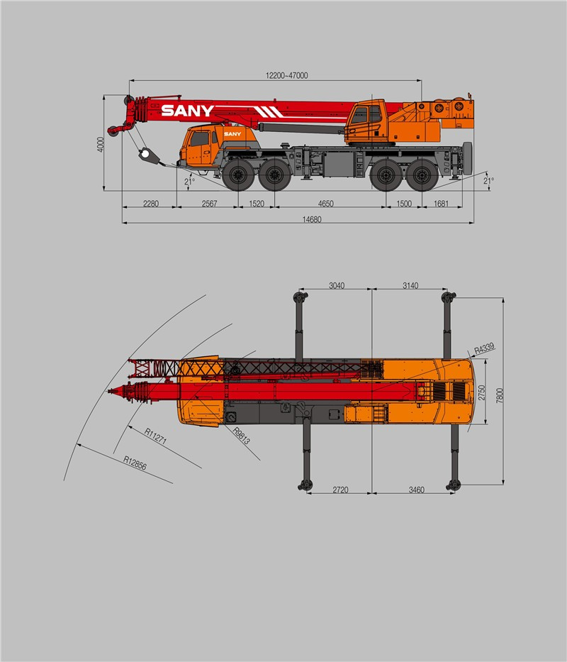 Sany Stc850 85 Tons More Safe And Reliable Operation Of Mobile Crane  Specification - Buy Mobile Crane Specification,Mobile Crane Truck,Truck  Crane