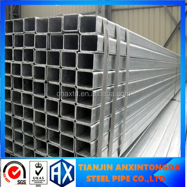 China Framing Galvanized Steel Square Tube Ms Square Pipe Weight ...