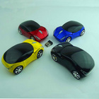 Promotional customized car model mouse finger mini 3d colorful smart mouse