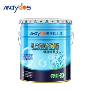 China Top 5 latex paint brands Active oxygen antispetic rate chart colour paints