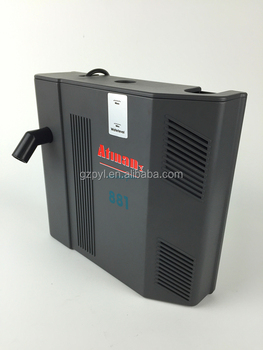 Atman at 881 fish tank built in filter three in one for Fish tank with built in filter